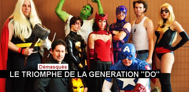 Les protagonistes d'une websérie parodique inspirée d'Avengers.