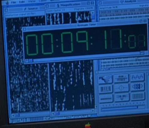 Capture d'écran du film Independance Day (1996).