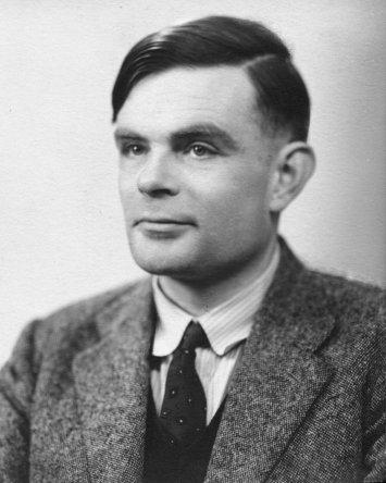 Alan Turing en 1951, National Portrait Gallery, Londres.