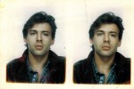 Marc Louboutin en 1987 et en civil.