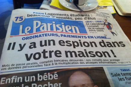 Le Parisien, un journal à la page