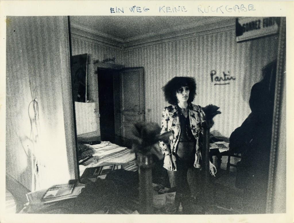 """""""Sans retour"""", Annie Vacelet-Vuitton en 1975 (P.J., DR)."""