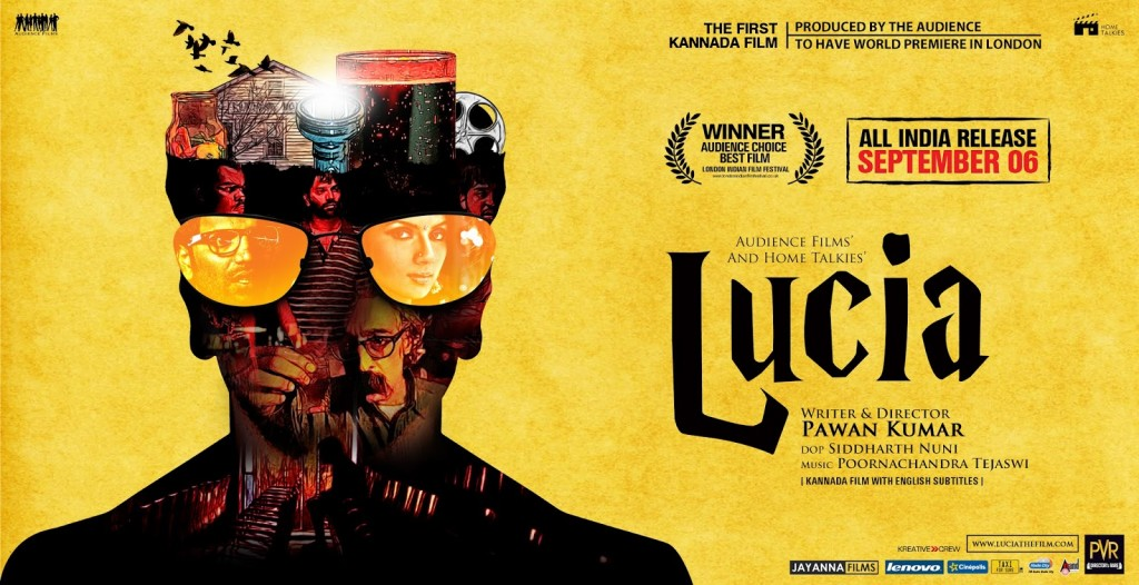 Lucia Collage inside Poster
