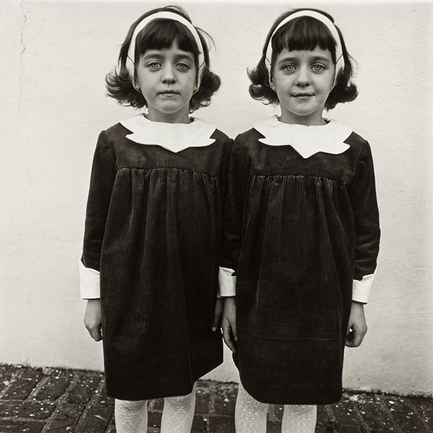 Diane Arbus, Identical Twins, Roselle, New Jersey, 1967.