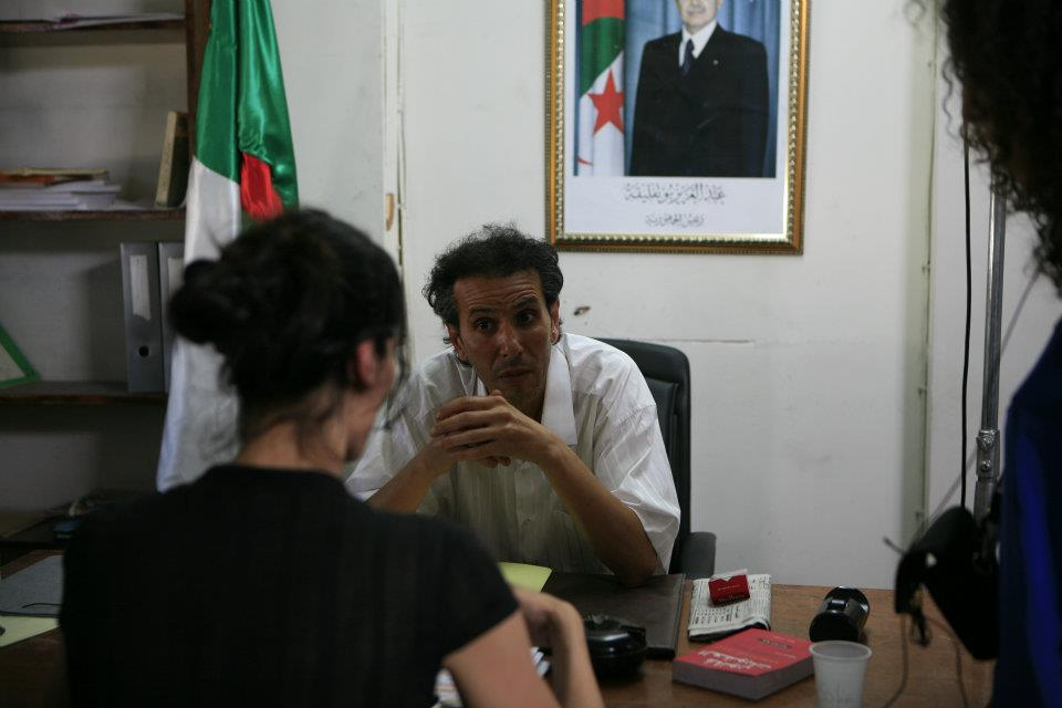 """""""La scène du commissariat a beaucoup fait rire les Algériens"""". (sur le tournage)"""