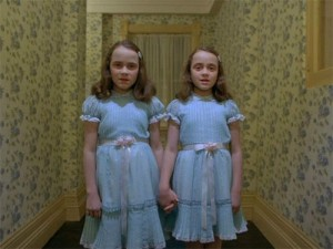 Les jumelles de Kubrick (The Shining, 1980).
