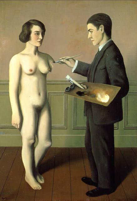 La Tentative de l'Impossible, René Magritte, 1928.