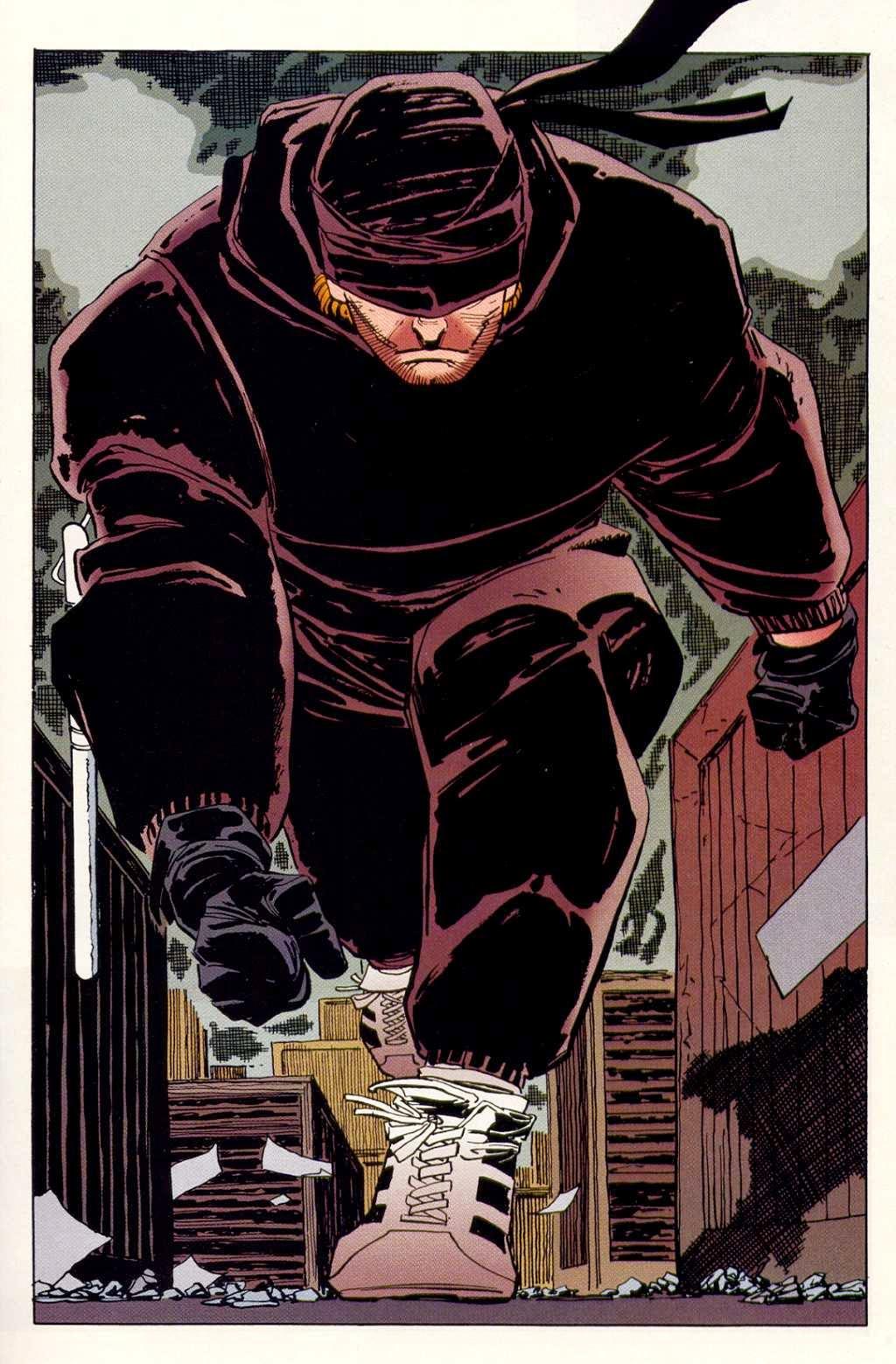 Daredevil selon Frank Miller.
