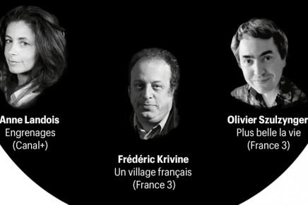 Showrunners français : des noms et des têtes (Télérama)