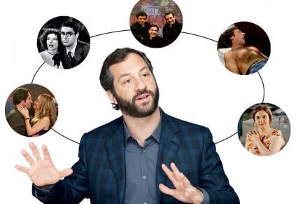 Judd Apatow pape de la comédie romantique-scato (Télérama)