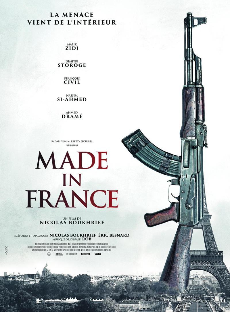 La première affiche du film.