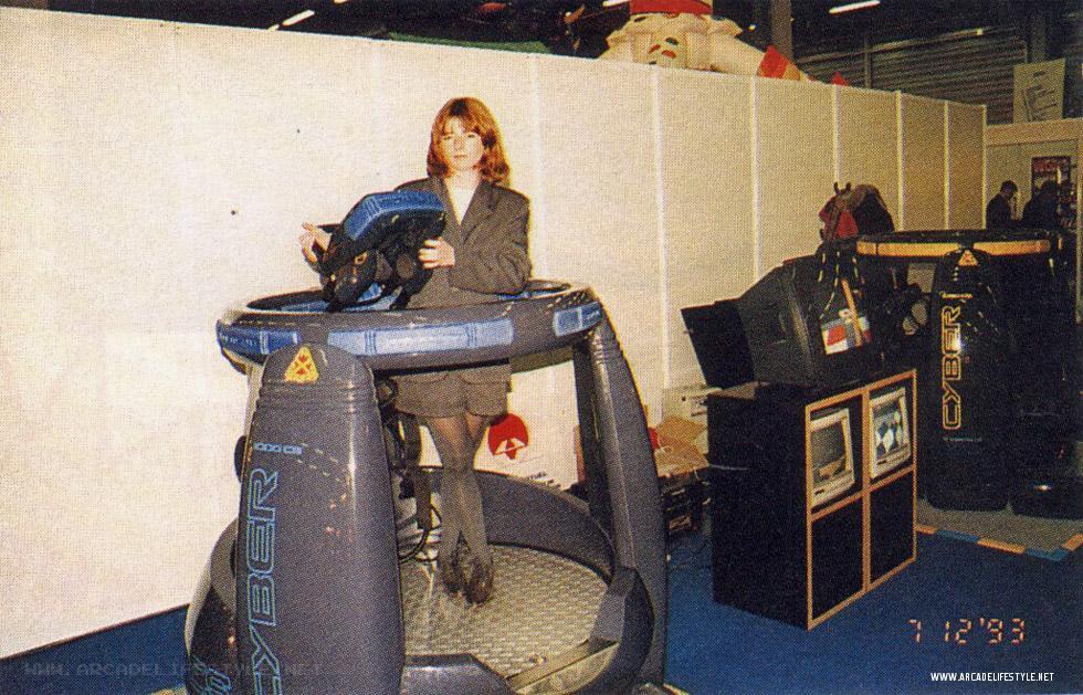 Le Virtuality 10000CS (circa 1990).
