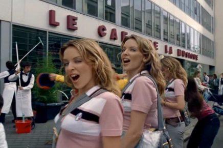 Hommage à Michel Gondry via Kylies-Minogues