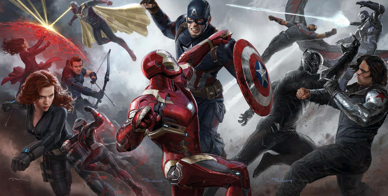 Trop de supers-héros tue le super-héro - Concept art CA : CV.