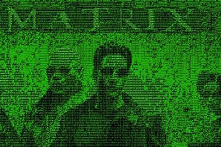 The Matrix : déchiffrer des lettres