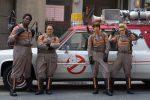 L'équipe 2016 du reboot de Ghostbusters 1984.