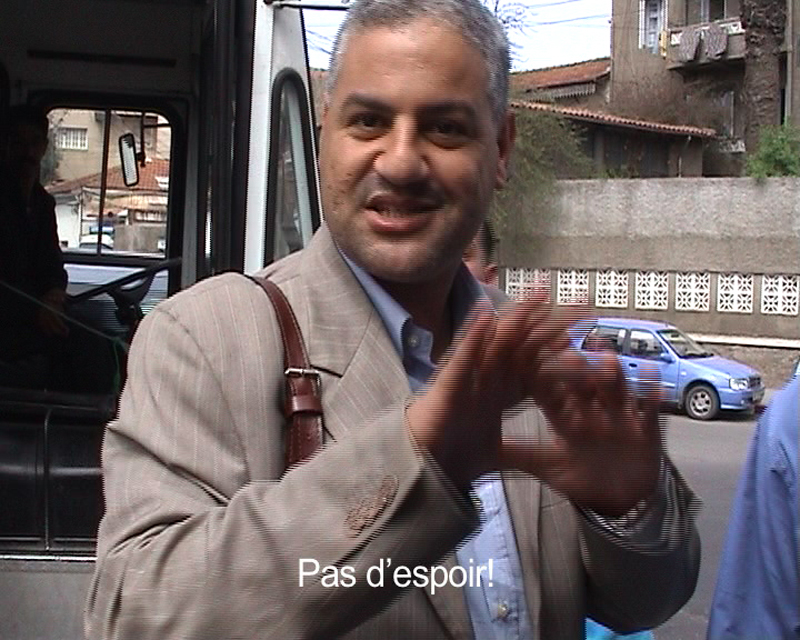 "Amina Zoubir : ""Prends le bus et regarde"" (Alger, documentaire, 2006)."