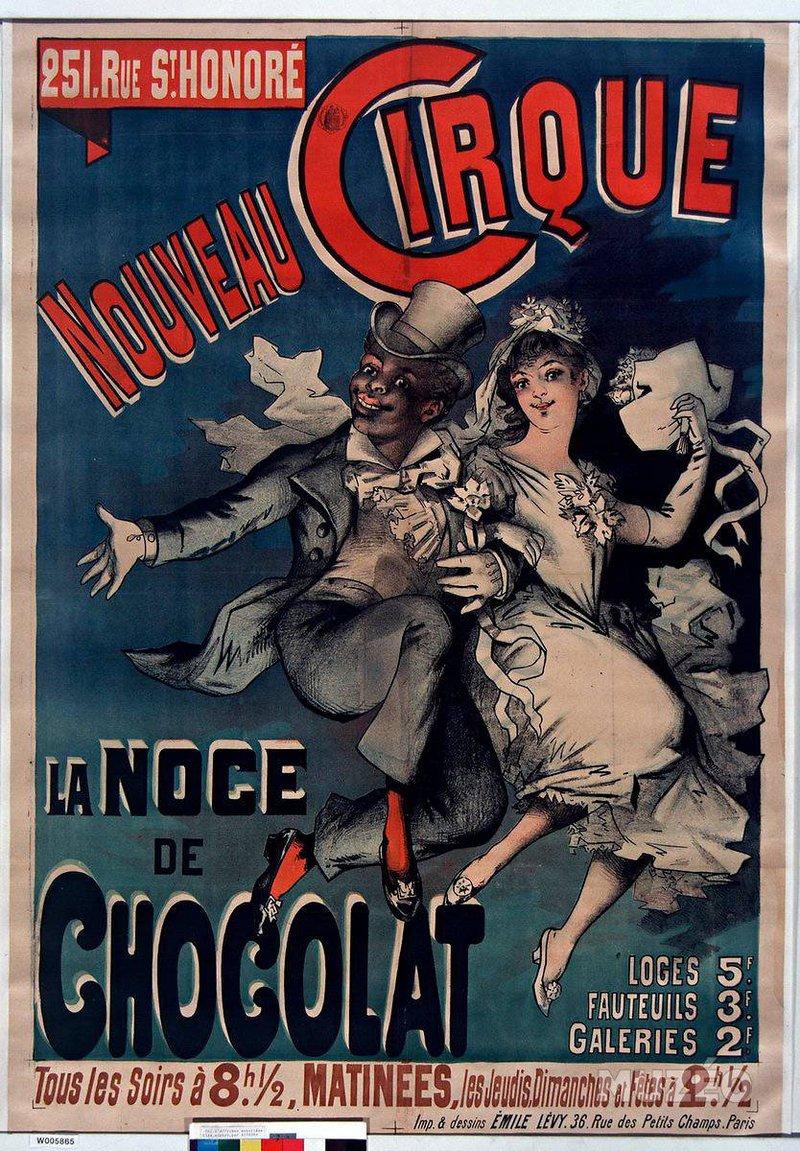 Chocolat old afiche